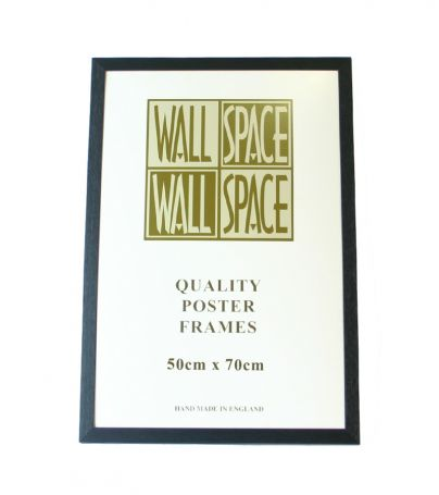Black Wooden Poster Frame - 500mm x 700mm