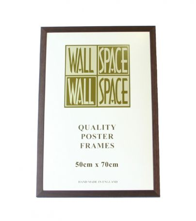 Brown Wooden Poster Frame - 500mm x 700mm