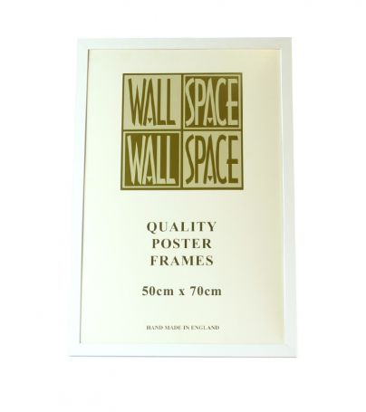 White Wooden Poster Frame - 500mm x 700mm