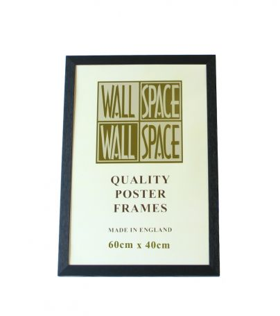 Black Wooden Poster Frame - 400mm x 600mm