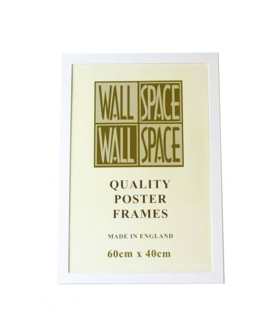 White Wooden Poster Frame - 400mm x 600mm