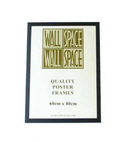 Black Wooden Poster Frame - 600mm x 800mm