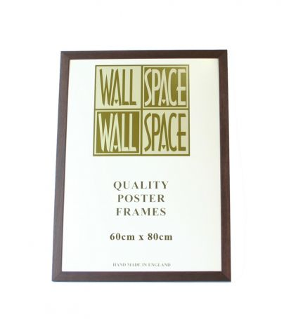 Brown Wooden Poster Frame - 600mm x 800mm
