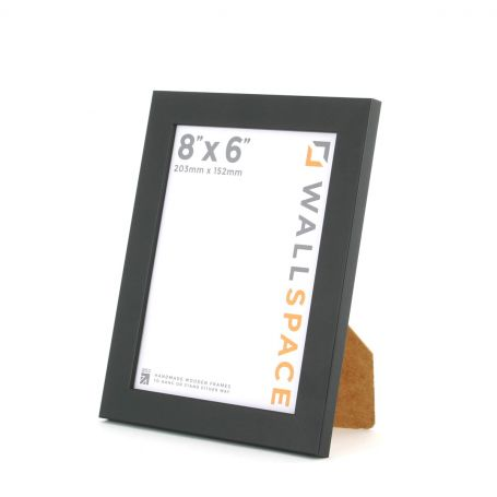 25mm Black Photo Frame 8x6
