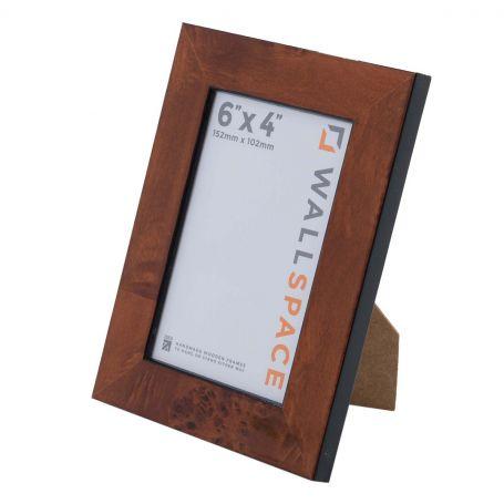 6 x 4 - Gloss Walnut Photo Frames