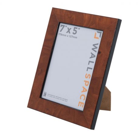 7 x 5 Gloss Walnut Photo Frames