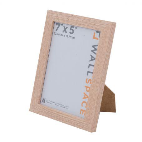 Solid Oak Photo Frame 7x5
