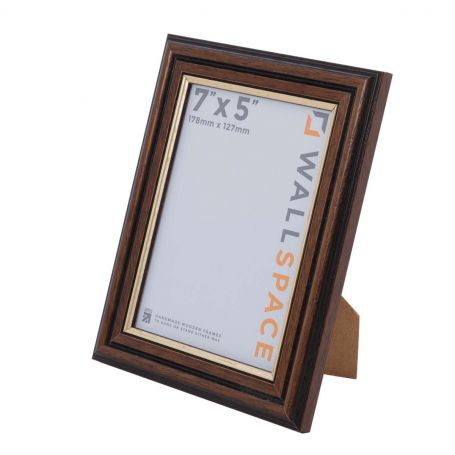 7 x 5 Traditional Brown Frame