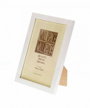 "7"" x 5"" - 15mm Matt White Photo Frame"