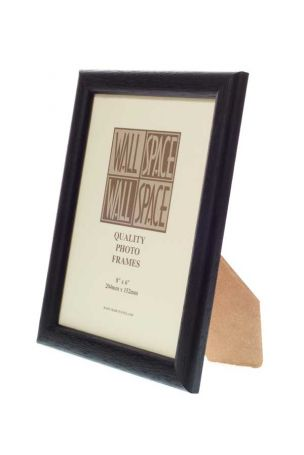 "1"" Black Photo Frame 8x6"
