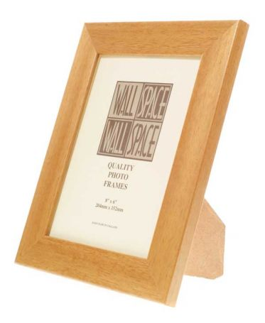 Wide Pine Photo Frame 8x6