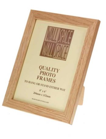 "8"" x 6"" - 21mm Solid Oak Photo Frame"
