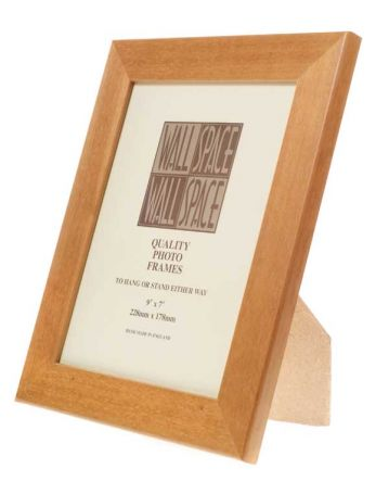 Box Pine Photo Frame 9x7