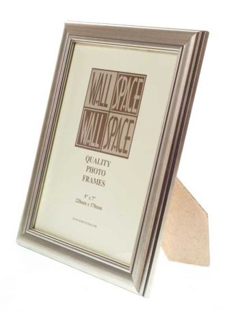 Deluxe Silver Photo Frame 9x7