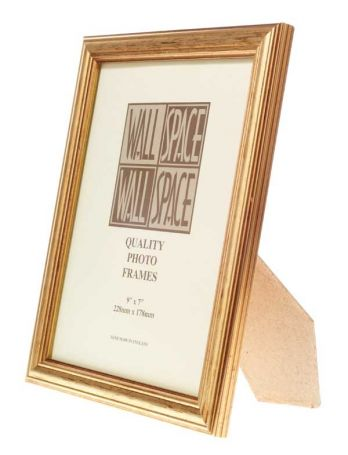 Gold Photo Frame 9x7