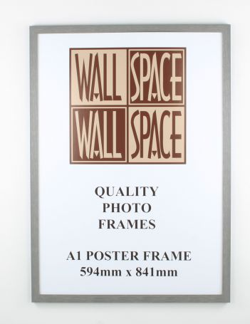 A1 Wooden Poster Frame - Grey Wood