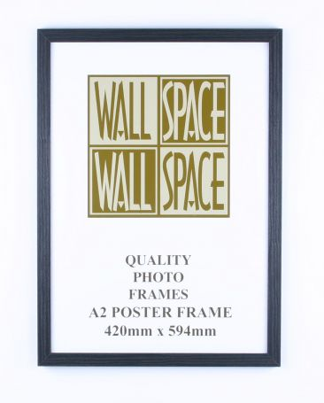 A2 Wooden Poster Frame - Black Wood