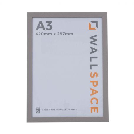 A3 Modern Grey Wooden Photo Frames