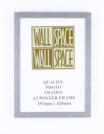 A3 Wooden Poster Frame - Grey Wood