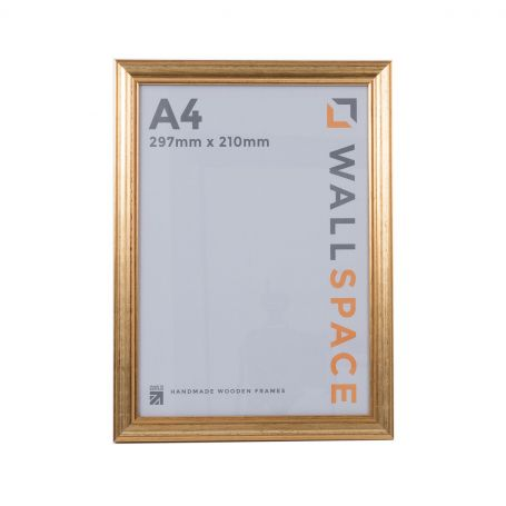 A4 Photo Frame in Gold
