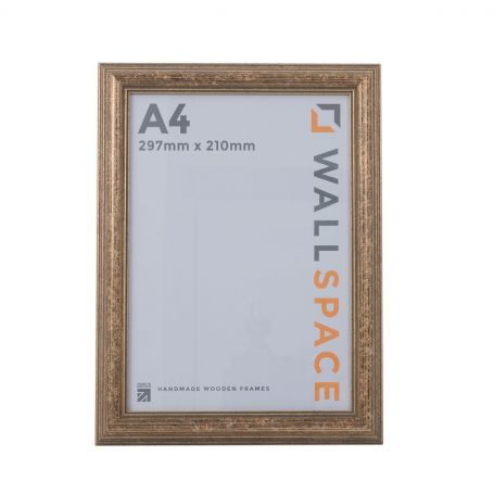 A4 Certificate Frame Gold, A4 Photo Frame Gold Deluxe