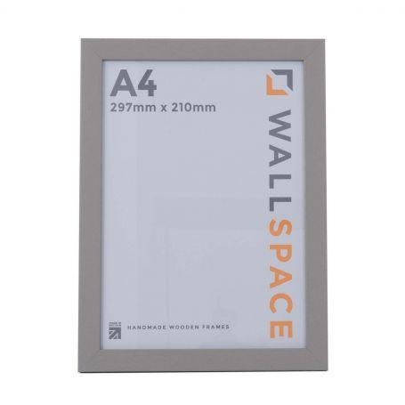 A4 Modern Grey Wooden Photo Frames