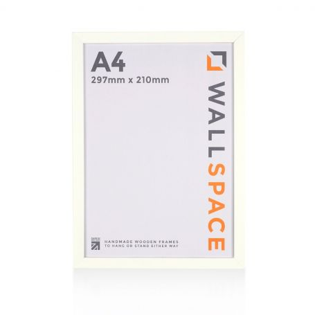 A4 White Photo Frame