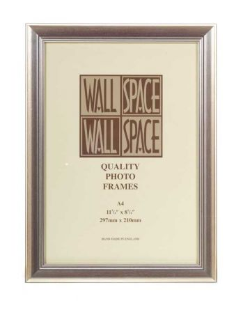 A4 Certificate Frame, A4 Photo Frame in Silver