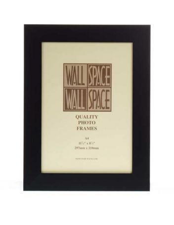 A4 Black Certificate Frame, A4 Photo Frame