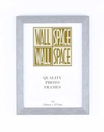 A4 Wooden Poster Frame - Grey Wood