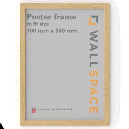 Solid Oak Poster Frame - 500mm x 700mm