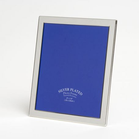 Silver Plated Photo Frame - 10 x 8
