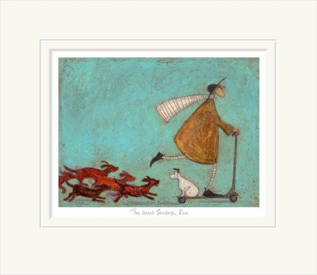 The Great Sausage Run by Sam Toft