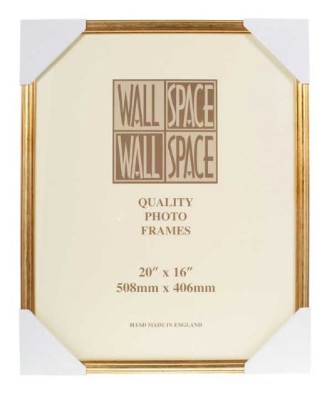 20 x 16 - Deluxe Gold Wooden Photo Frames
