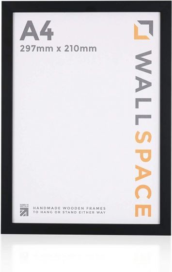 A4 - 15mm Matt Black Photo Frames