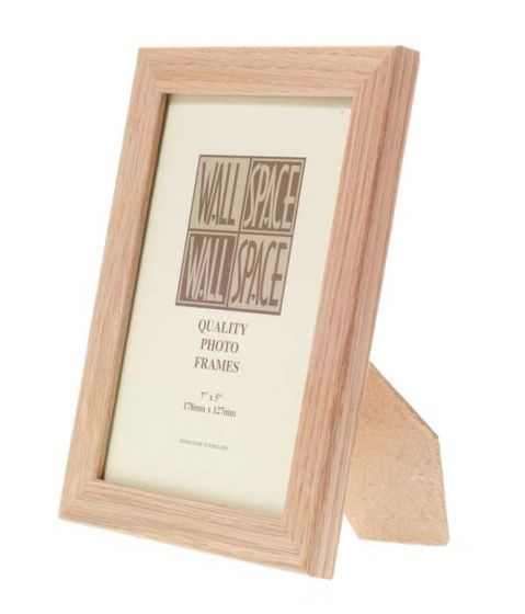 Solid Oak Photo Frame 7x5