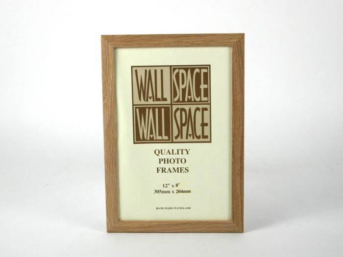 12 x 8 - 21mm Solid Oak Photo Frames