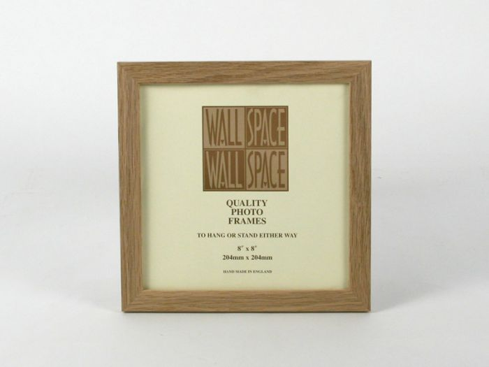 8 x 8 - 21mm Solid Oak Square Photo Frames