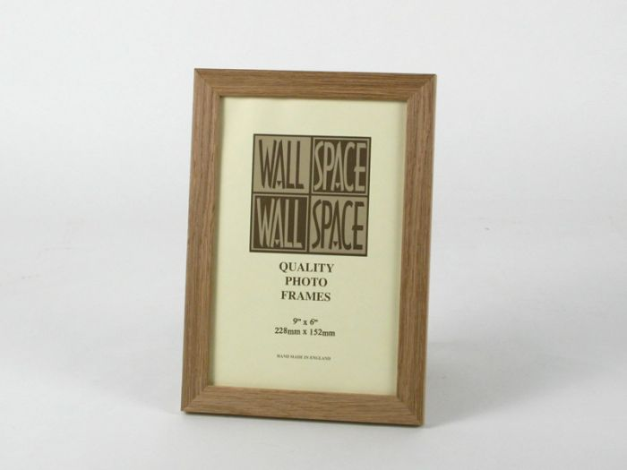 9 x 6 - 21mm Solid Oak Photo Frames
