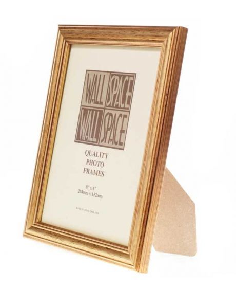 Gold Photo Frame 8x6