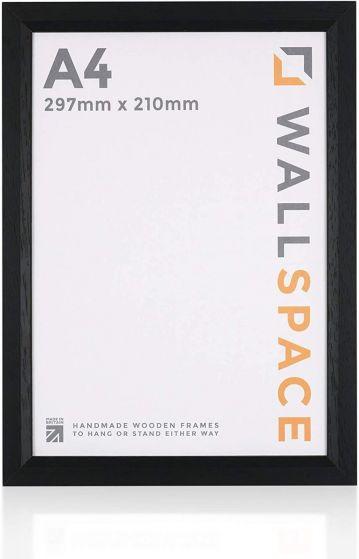 A4 - 25mm Smooth Matt Black Photo Frames