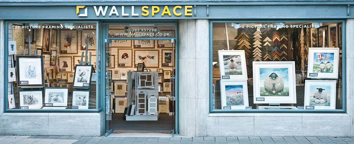 Our Cirencester Framing Shop